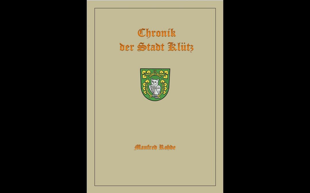 Buchvorstellung: Chronik der Stadt Klütz von M.Rohde